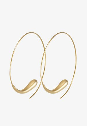 DASH HOOPS - Kolczyki - gold-coloured