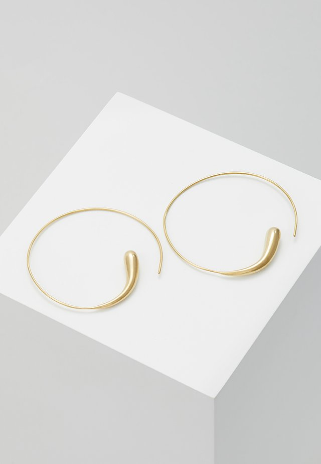 DASH HOOPS - Earrings - gold-coloured