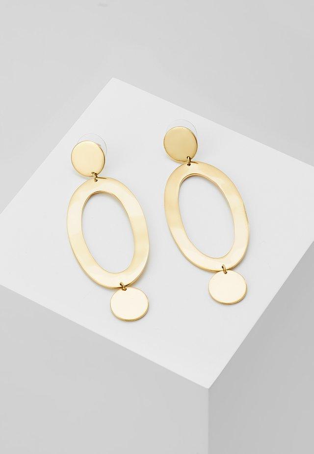 MARLO STATEMENT EARRINGS - Örhänge - gold-coloured