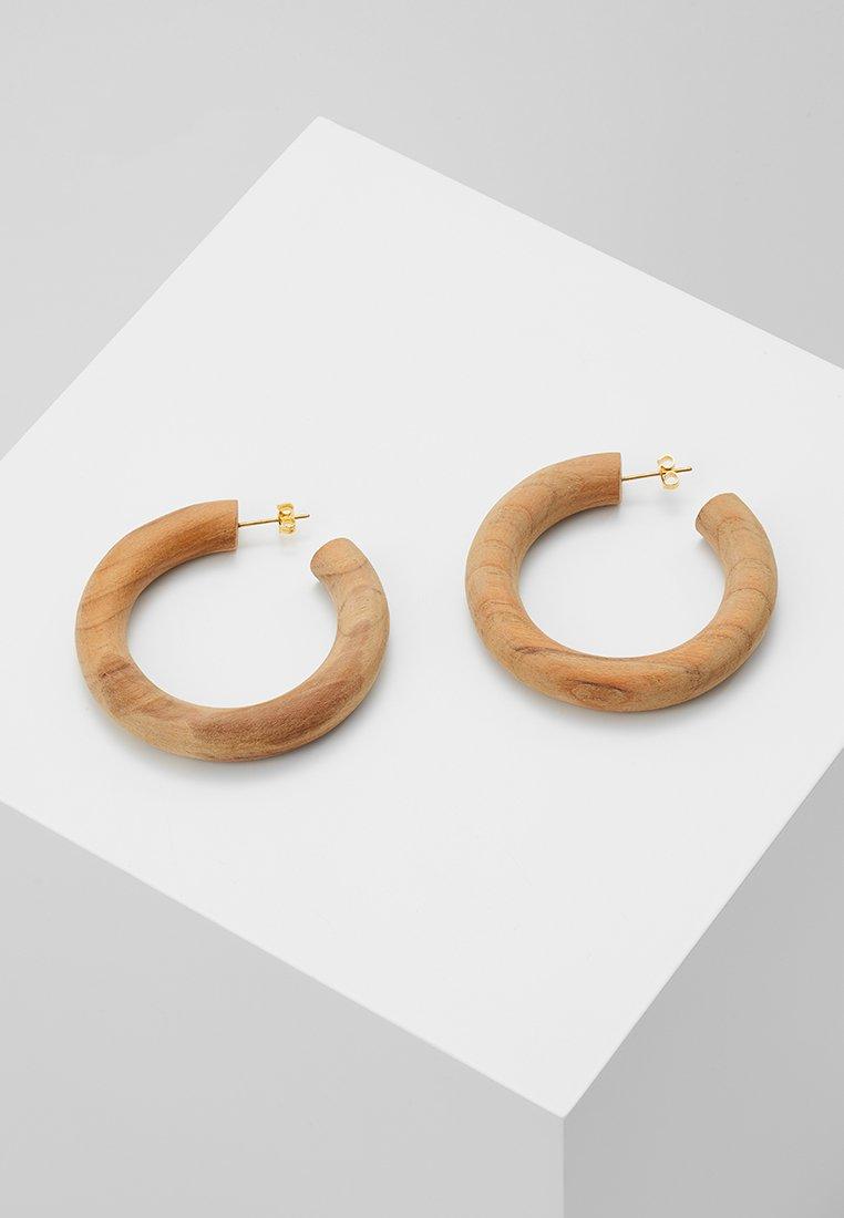 Soko - ARLIE HOOP - Ohrringe - brown