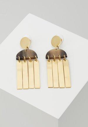 MAXI CALA EARRINGS - Earrings - natural