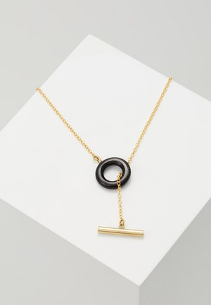 KUMI LARIAT - Collier - black