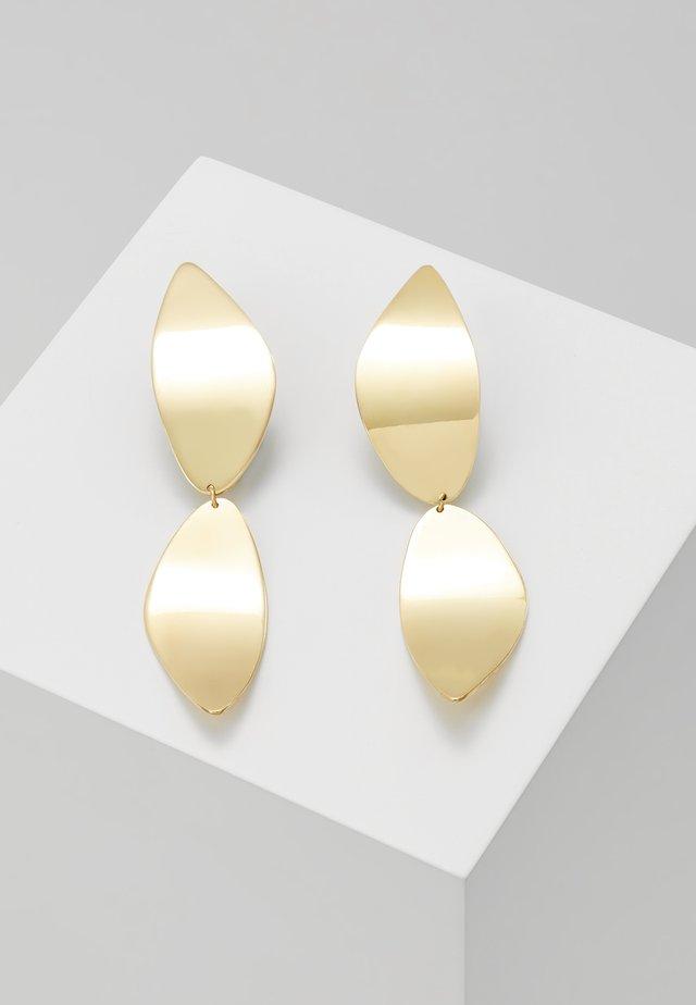 TULLA STATEMENT EARRING - Örhänge - gold-coloured
