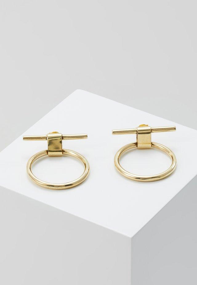 ISLE STUDS - Earrings - gold-coloured