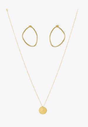 ICONIC SHAPES GIFT SET - Necklace - gold-coloured