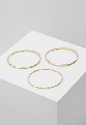 TWIST STACKED BANGLES 3 PACK - Armband - gold-coloured