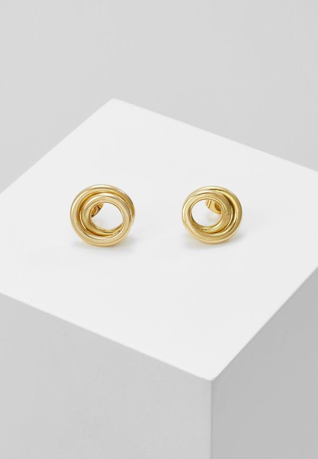 LINEA STUDS - Ohrringe - gold-coloured