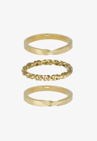 Soko - TWIST STACKED RINGS 3 PACK - Ringe - gold-coloured - 4