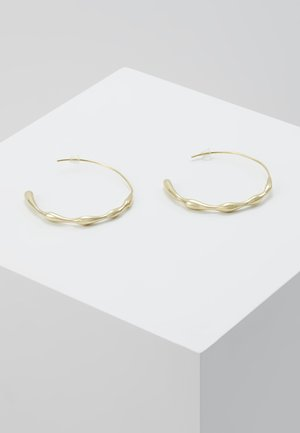 MOTO HOOPS - Øreringe - gold-coloured
