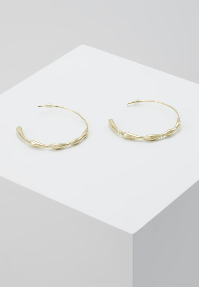 MOTO HOOPS - Náušnice - gold-coloured