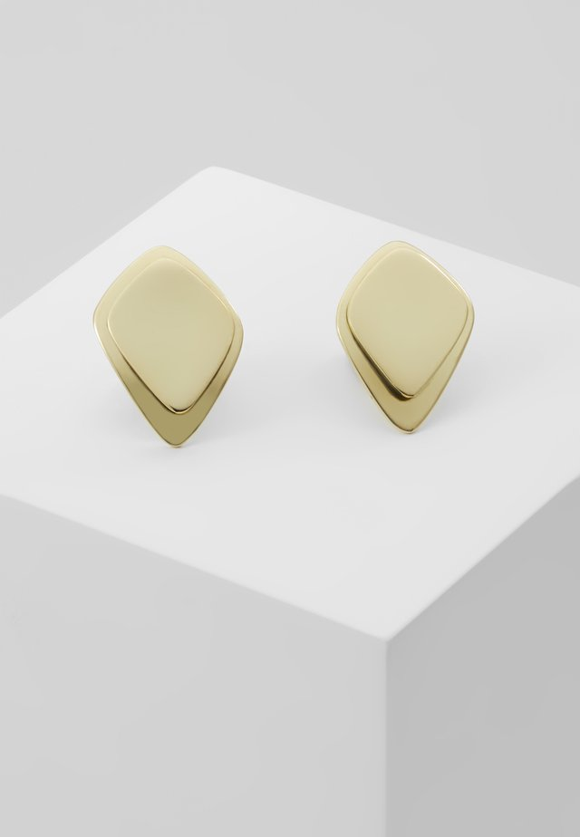 MAKENA STUD EARRINGS - Náušnice - gold-coloured