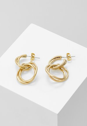 NIA EARRINGS - Øredobber - gold-coloured