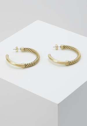 UZI HOOP EARRINGS - Oorbellen - gold-coloured