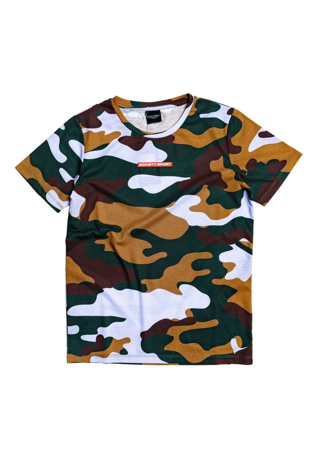 FOREST CAMO - Print T-shirt - multi