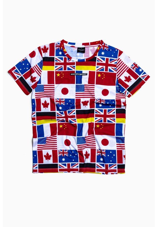 FLAGS - Print T-shirt - multi