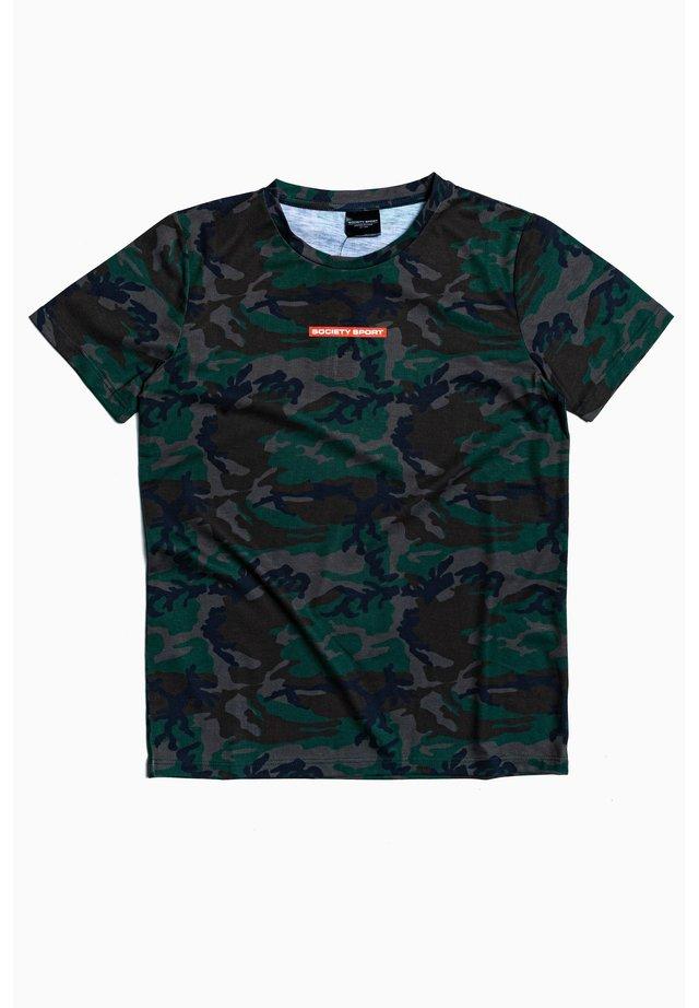 TRUE CAMO - Print T-shirt - multi