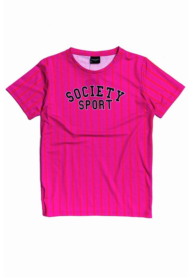 Print T-shirt - pink/multi
