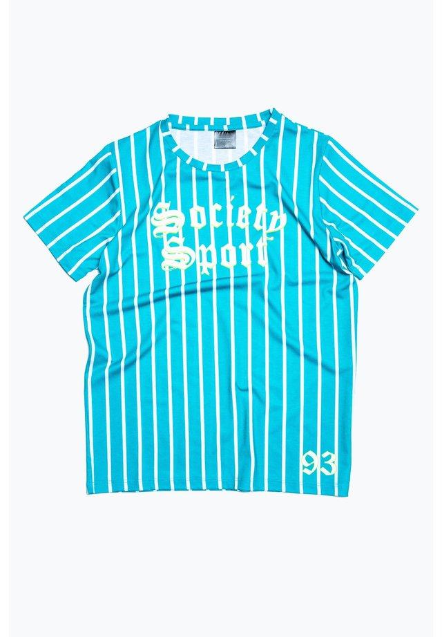 VARSITY STRIPE - Print T-shirt - blue/multi