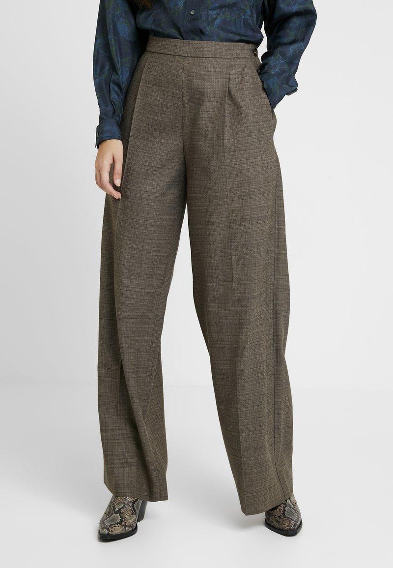 Soeur - GONTRAN - Pantalon classique - beige chine