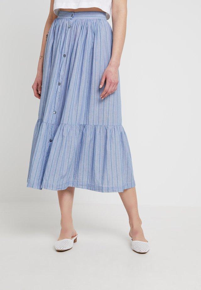FRANGINE JUPE - Áčková sukně - bleu
