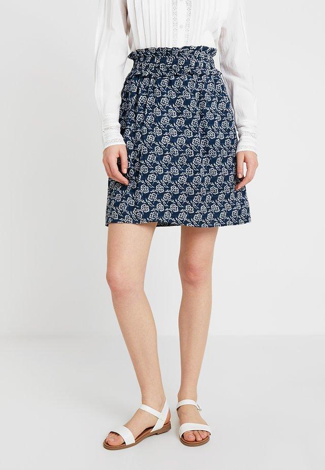 DORA JUPE - A-line skirt - navy