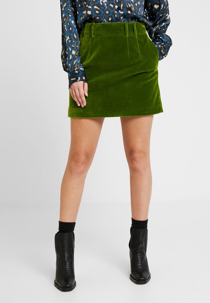 Soeur - GRIMM - A-line skirt - vert
