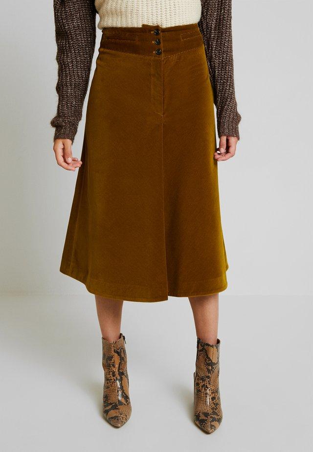 FOGGY - Áčková sukně - vert