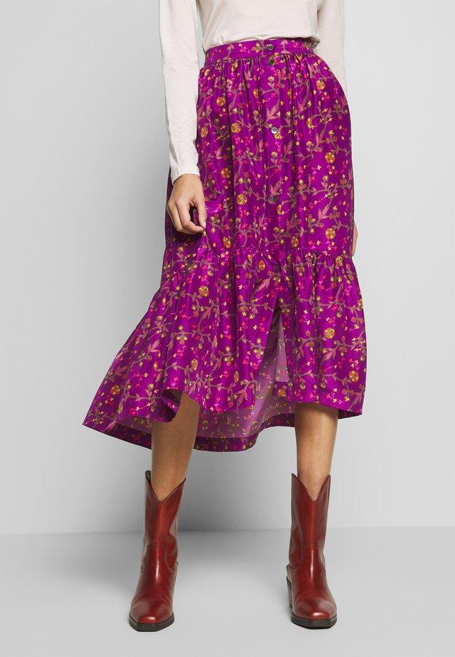 HEART - A-line skirt - violet