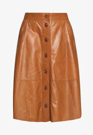 IRISH - Áčková sukně - naturelle