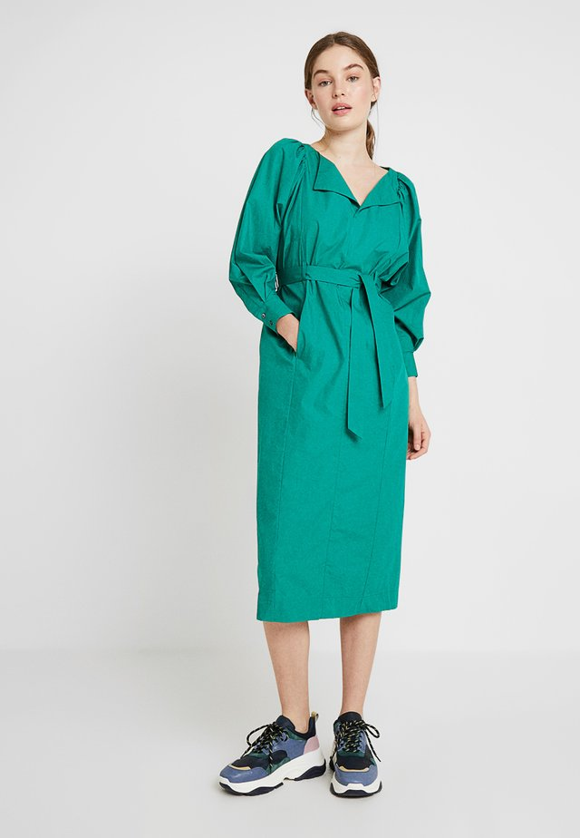 FAVIGNANA - Sukienka koszulowa - emeraude