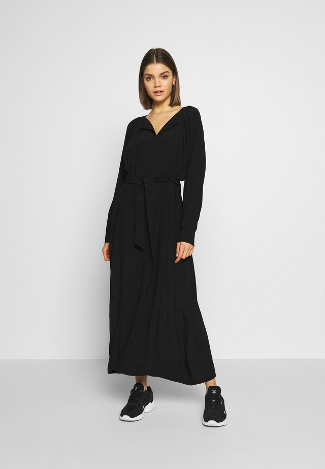 INDIANA - Maxi šaty - noir