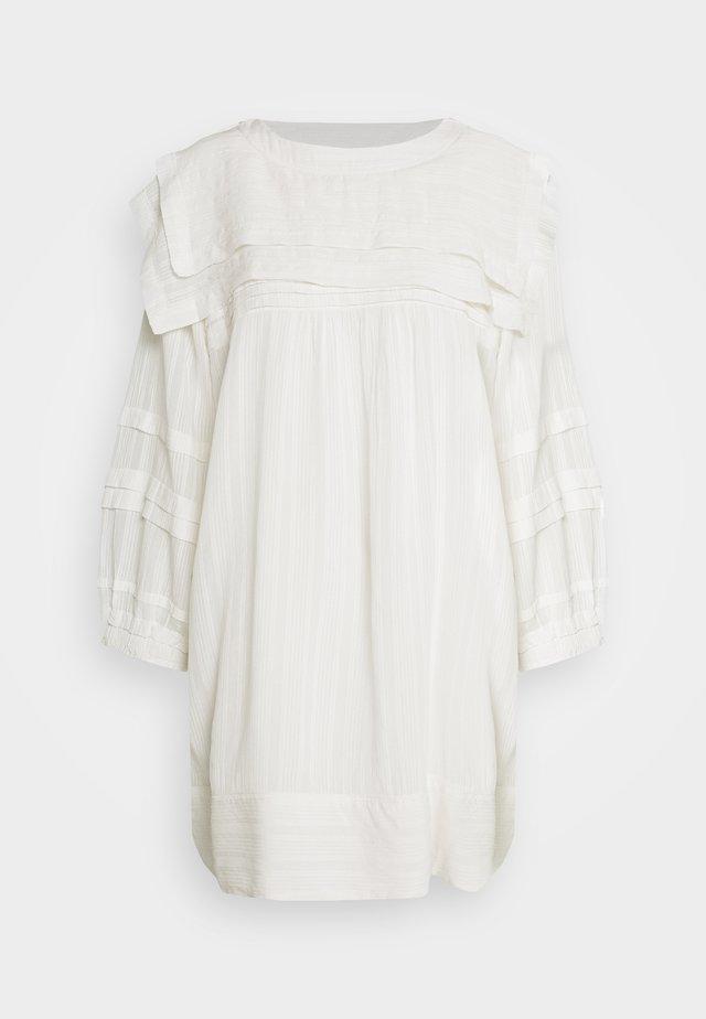JOSEPHINE - Denní šaty - blanc