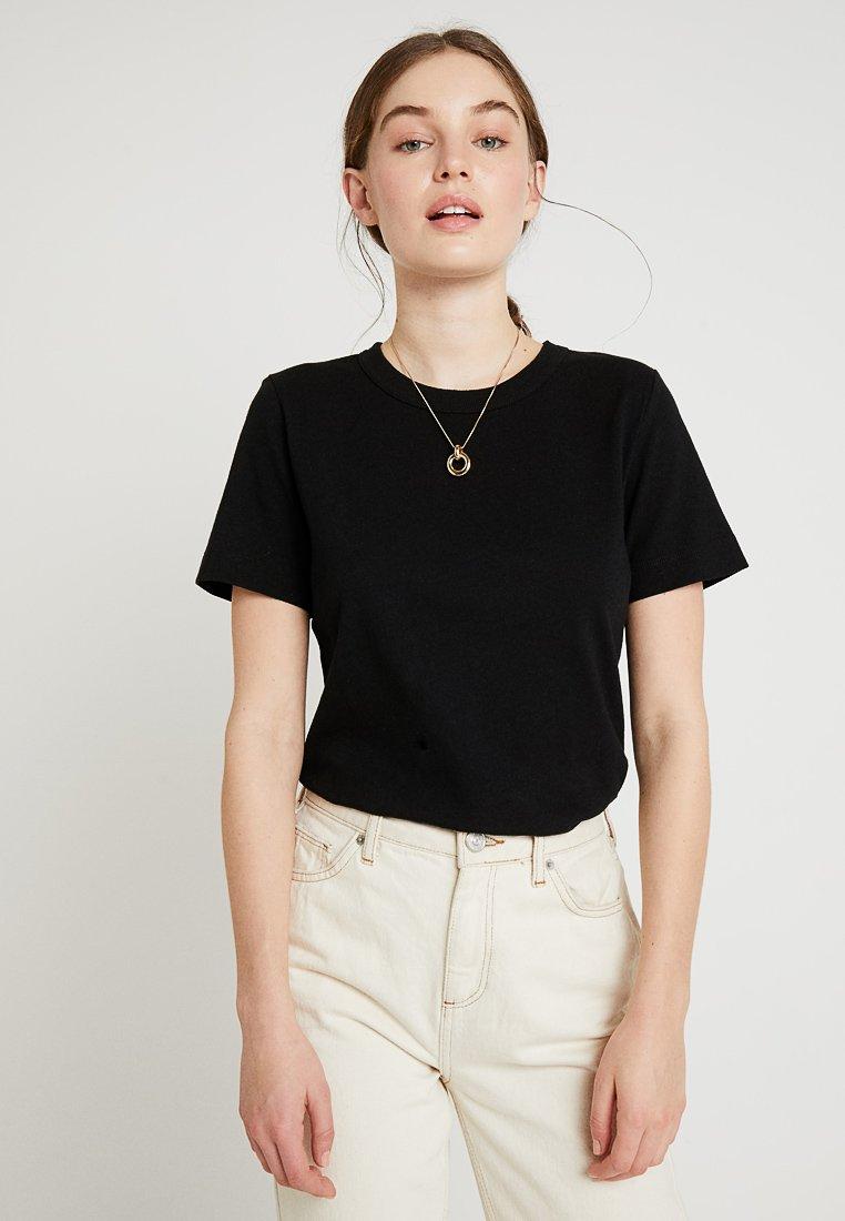 Soeur - CYRIL - T-shirt basique - noir
