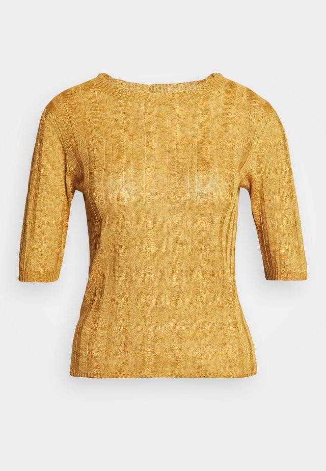 DELON - T-shirts print - miel