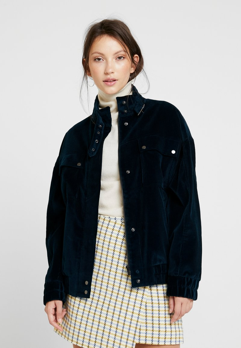 Soeur - GILLES - Summer jacket - ardoise