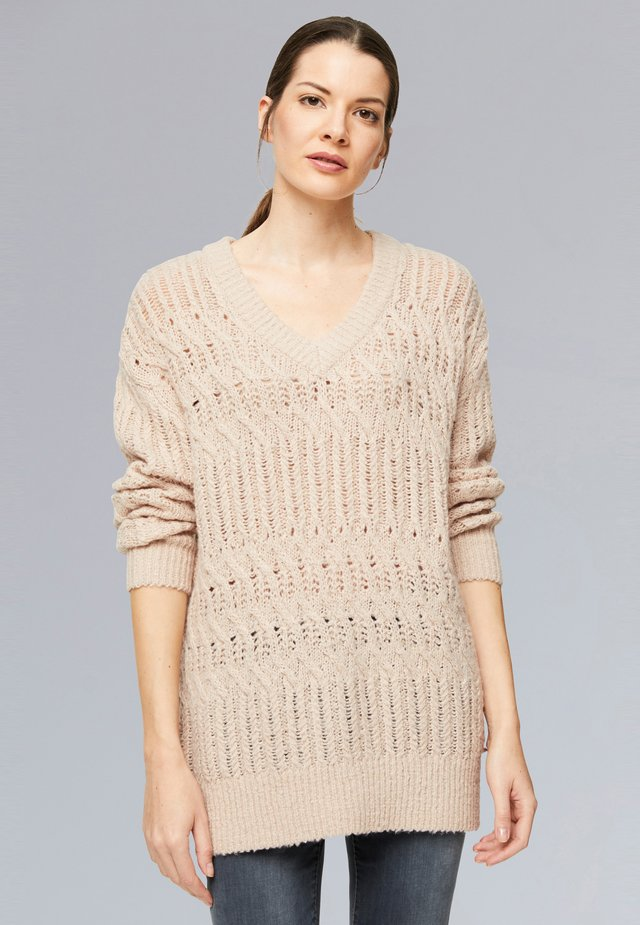 Jumper - light mauve
