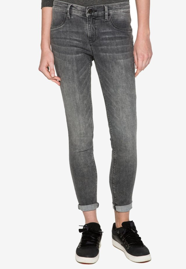 Jeggings - grey denim