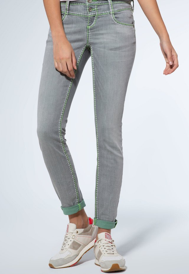 Slim fit jeans - light grey used