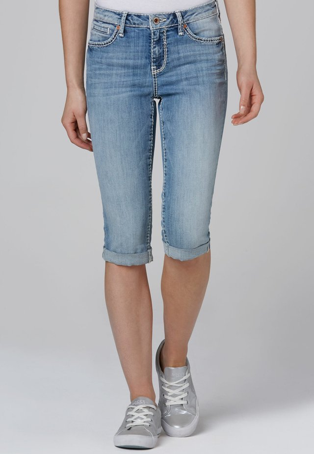 Denim shorts - light used