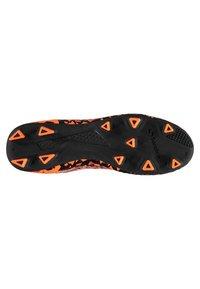 sondico - Chaussures de foot à crampons - black/orange - 3