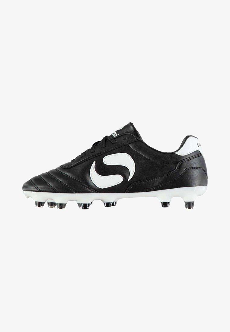 sondico - Chaussures de foot en salle - black/white