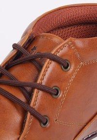 Soviet - Bottines à lacets - light brown - 4