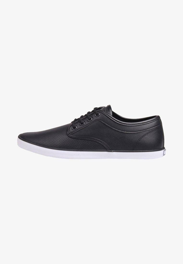 Soviet - Chaussures à lacets - black/white