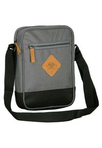 SoulCal - Across body bag - anthracite/ black - 2