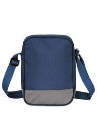 SoulCal - Across body bag - navy blue/gray - 1