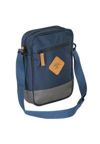 SoulCal - Across body bag - navy blue/gray - 3