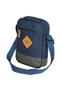 SoulCal - Across body bag - navy blue/gray - 4