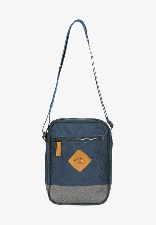 Across body bag - navy blue/gray