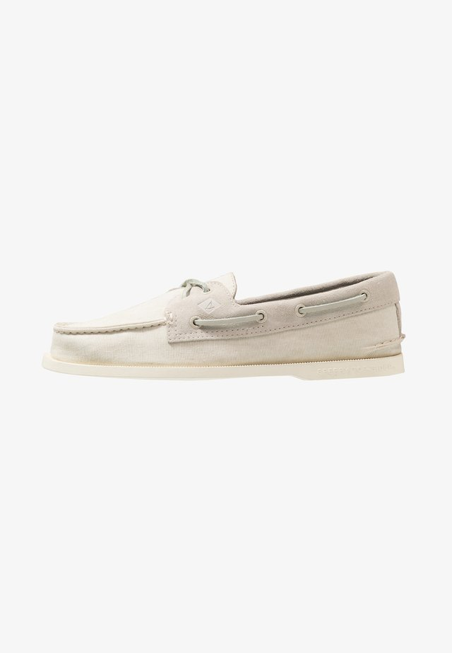 2-EYE - Boat shoes - offwhite