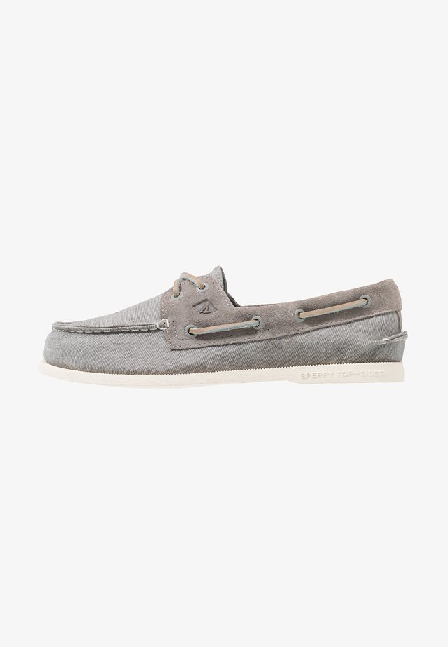 2-EYE  - Boat shoes - grey